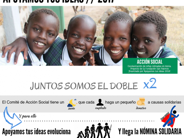 """Fundación +Vida gana el concurso """"Apoyamos tus ideas 2017"""" de BNP Paribas en la categoría """"Cooperación Internacional"""""""